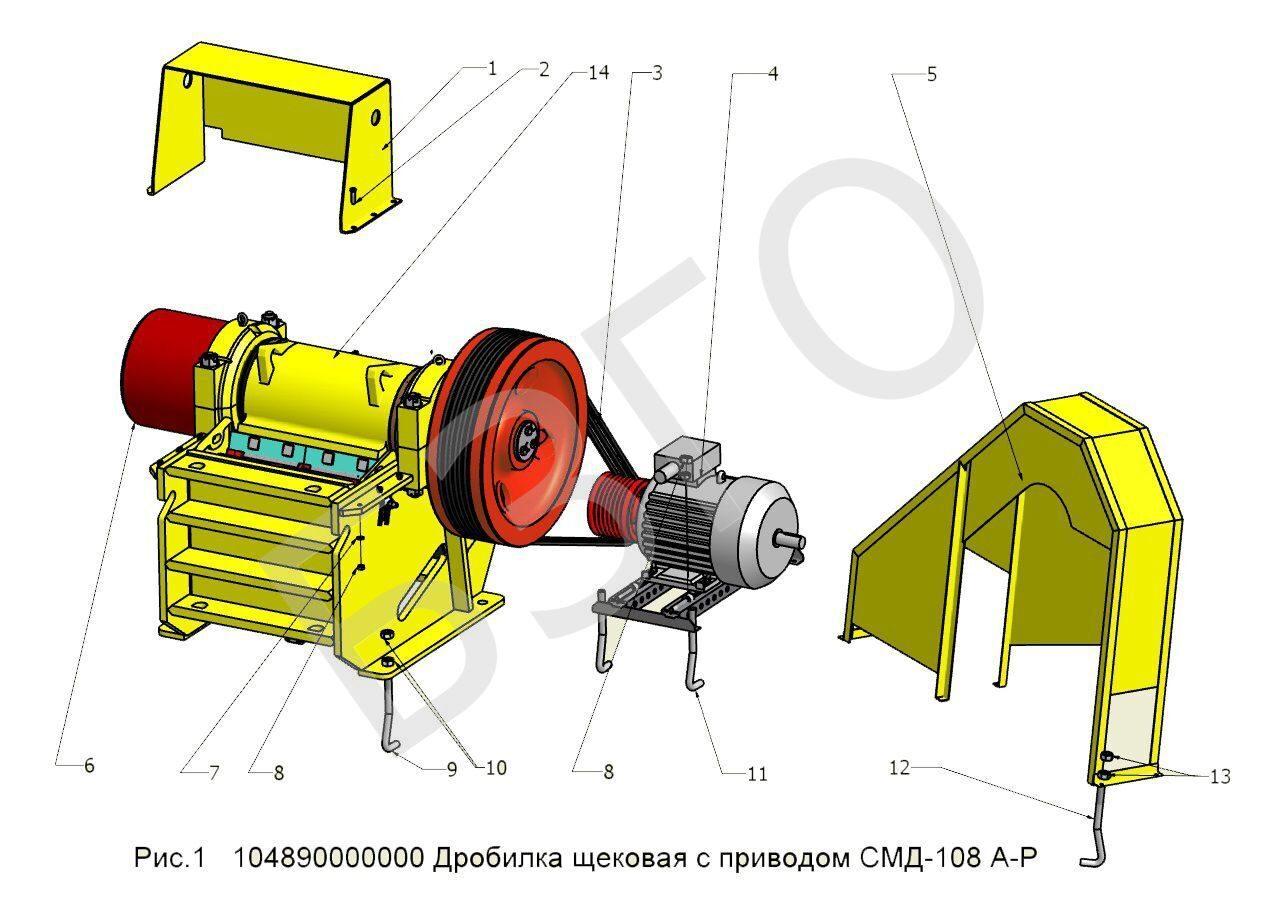 Дробилка смд 108 подшипники скруббер бутара в Королёв